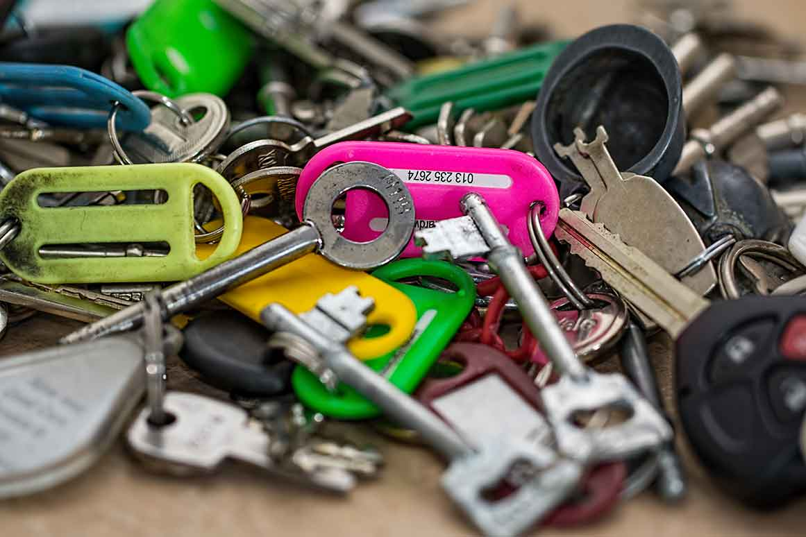Giveaway Werbeartikel Schlüsselanhänger